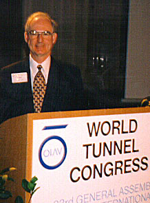 John Reilly Milan World Tunnel Conference